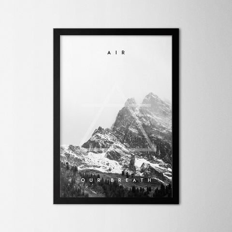 Four Elements - Air - Northshire Art Prints - Poster - Dekorasyon