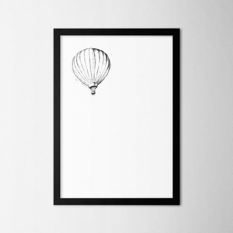 Balloon - Northshire - Poster - Dekorasyon - Ev Dekorasyonu - Wall Art - Metal Wall Art - Decoration