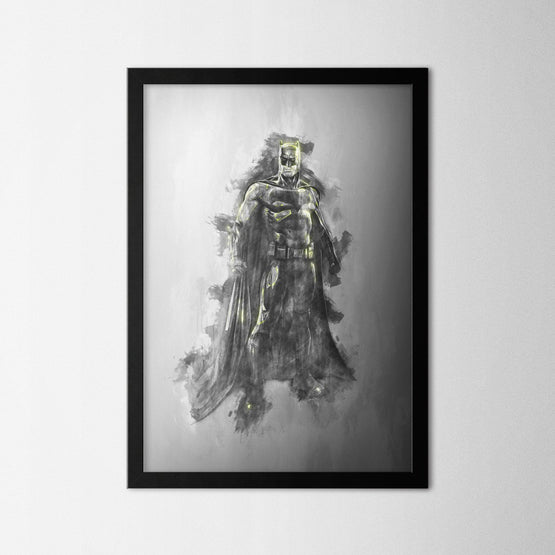 Batman - Northshire - Poster - Dekorasyon - Ev Dekorasyonu - Wall Art - Metal Wall Art - Decoration