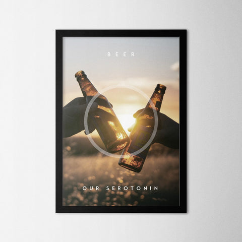 Four Elements - Beer - Northshire Art Prints - Poster - Dekorasyon