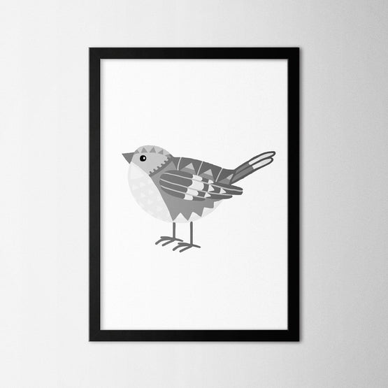 Bird II - Northshire - Poster - Dekorasyon - Ev Dekorasyonu - Wall Art - Metal Wall Art - Decoration