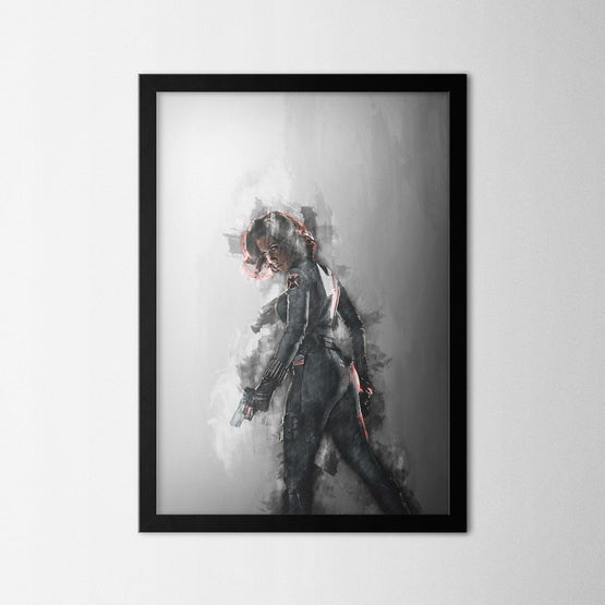 Black Widow - Northshire - Poster - Dekorasyon - Ev Dekorasyonu - Wall Art - Metal Wall Art - Decoration