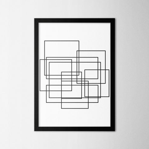 Complicate II - Northshire - Poster - Dekorasyon - Ev Dekorasyonu - Wall Art - Metal Wall Art - Decoration