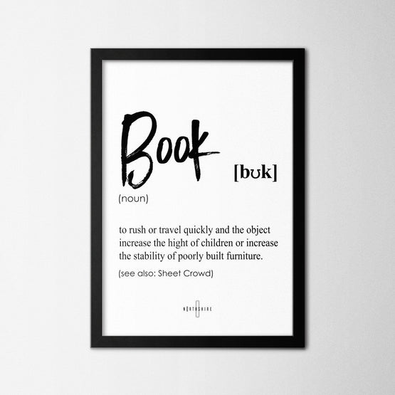 Book - Northshire - Poster - Dekorasyon - Ev Dekorasyonu - Wall Art - Metal Wall Art - Decoration