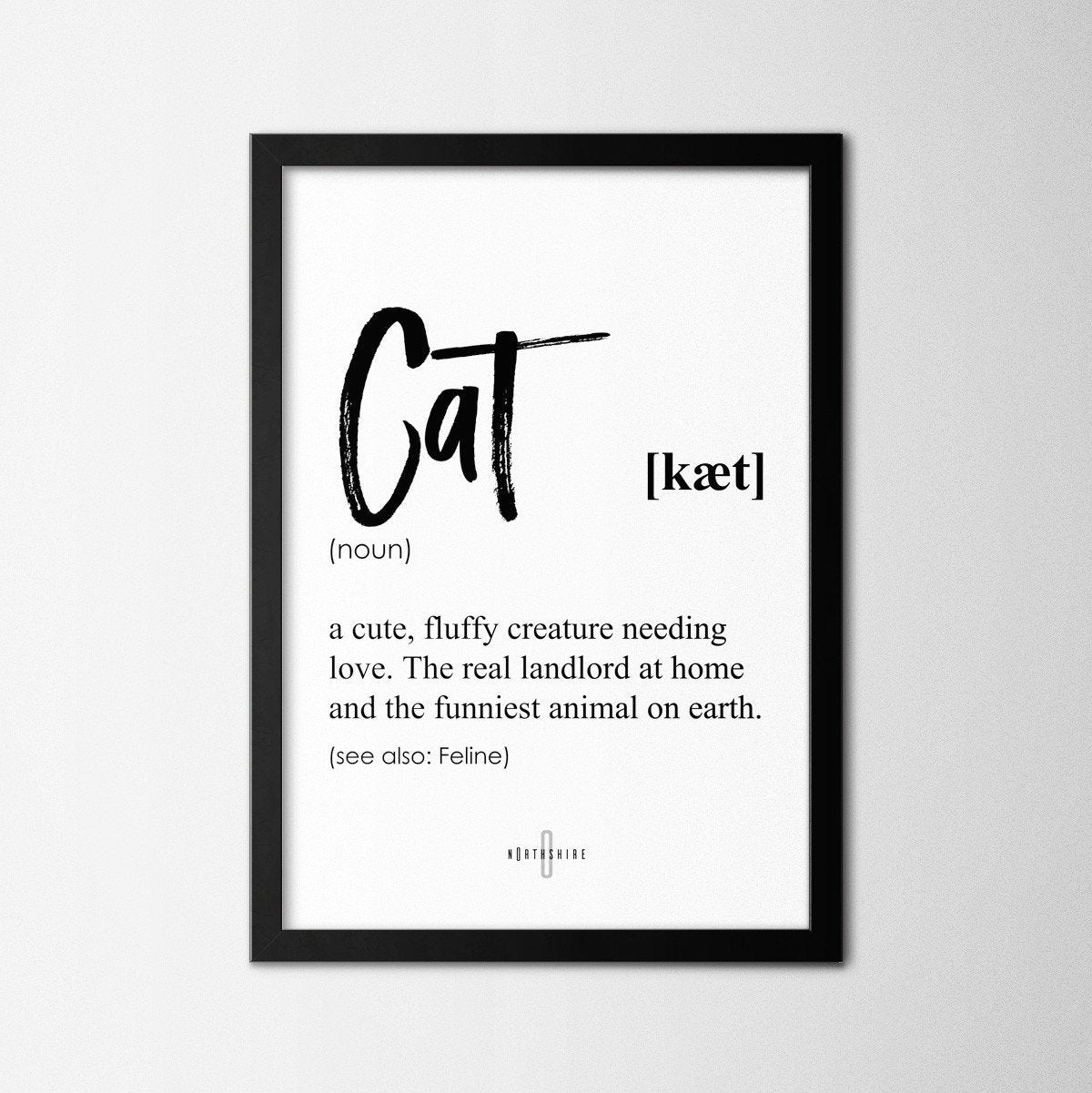 Cat - Northshire Art Prints - Poster - Dekorasyon