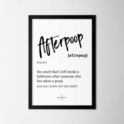 Afterpoop - Northshire - Poster - Dekorasyon - Ev Dekorasyonu - Wall Art - Metal Wall Art - Decoration