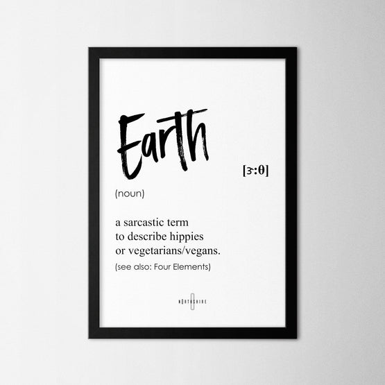 Earth - Northshire - Poster - Dekorasyon - Ev Dekorasyonu - Wall Art - Metal Wall Art - Decoration