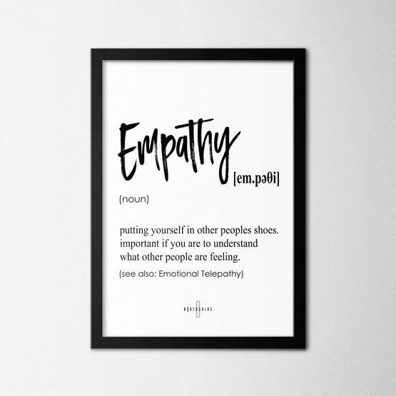 Empathy - Northshire - Poster - Dekorasyon - Ev Dekorasyonu - Wall Art - Metal Wall Art - Decoration