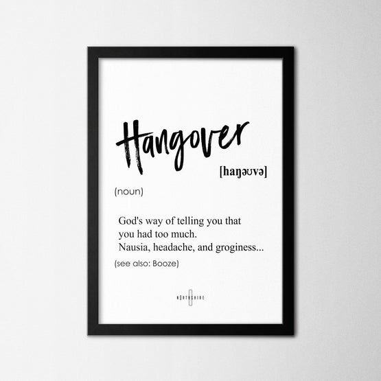 Hangover - Northshire - Poster - Dekorasyon - Ev Dekorasyonu - Wall Art - Metal Wall Art - Decoration