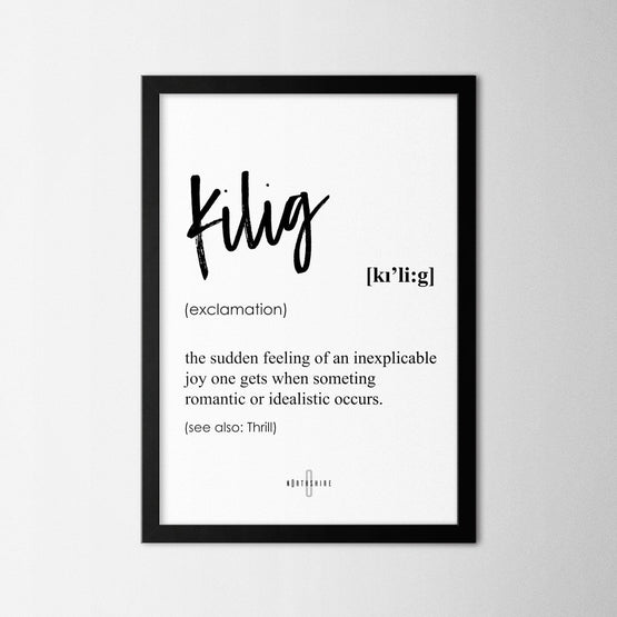 Kilig - Northshire - Poster - Dekorasyon - Ev Dekorasyonu - Wall Art - Metal Wall Art - Decoration