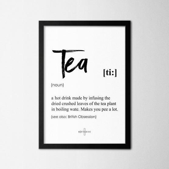 Tea - Northshire - Poster - Dekorasyon - Ev Dekorasyonu - Wall Art - Metal Wall Art - Decoration