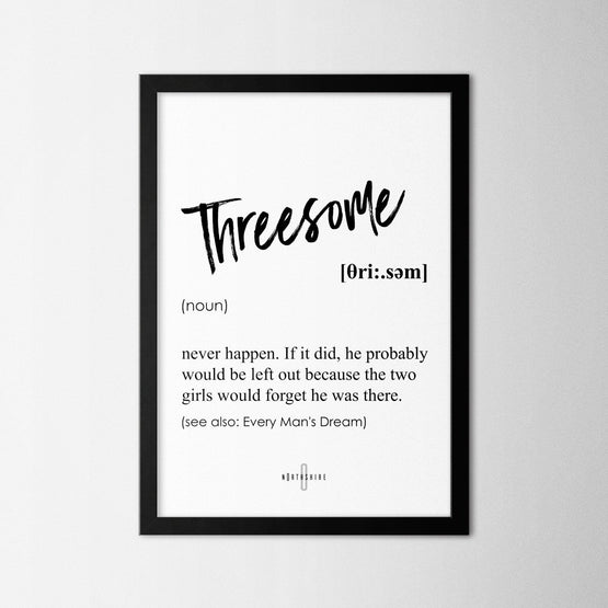 Threesome - Northshire - Poster - Dekorasyon - Ev Dekorasyonu - Wall Art - Metal Wall Art - Decoration