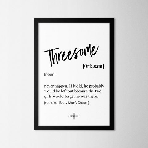 Threesome - Northshire Art Prints - Poster - Dekorasyon