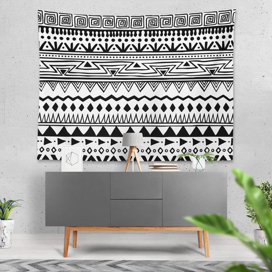Ethnic - Duvar Örtüsü - Northshire - Poster - Dekorasyon - Ev Dekorasyonu - Wall Art - Metal Wall Art - Decoration