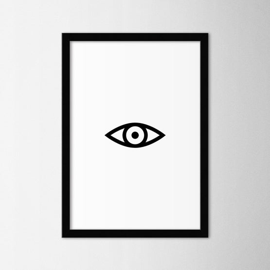 Eye - Northshire - Poster - Dekorasyon - Ev Dekorasyonu - Wall Art - Metal Wall Art - Decoration