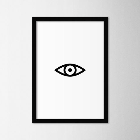 Eye - Northshire Art Prints - Poster - Dekorasyon