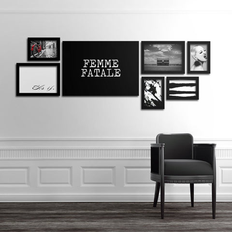 Femme Fatale Set - Northshire - Poster - Dekorasyon - Ev Dekorasyonu - Wall Art - Metal Wall Art - Decoration