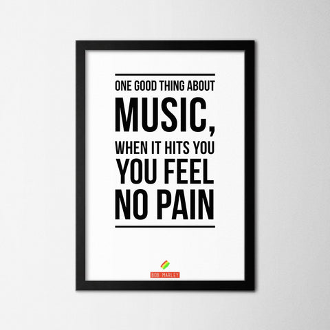 Good Thing About Music - Northshire Art Prints - Poster - Dekorasyon
