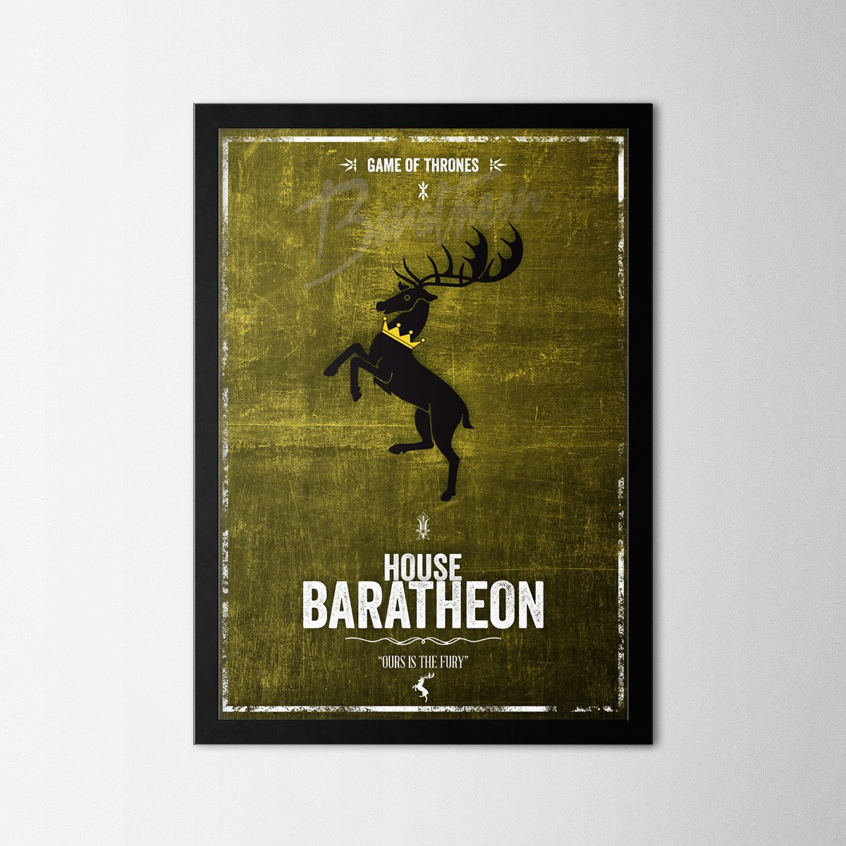 Game of Thrones - Baratheon - Northshire Art Prints - Poster - Dekorasyon