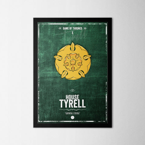 Game of Thrones - Tyrell - Northshire Art Prints - Poster - Dekorasyon