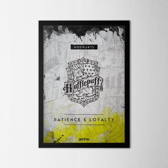 Harry Potter - Hufflepuff - Northshire - Poster - Dekorasyon - Ev Dekorasyonu - Wall Art - Metal Wall Art - Decoration