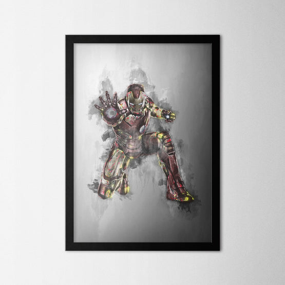 Ironman - Northshire - Poster - Dekorasyon - Ev Dekorasyonu - Wall Art - Metal Wall Art - Decoration