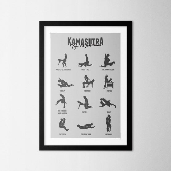 Kamasutra - Northshire - Poster - Dekorasyon - Ev Dekorasyonu - Wall Art - Metal Wall Art - Decoration