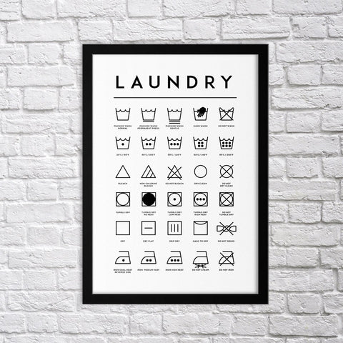 Laundry - Northshire - Poster - Dekorasyon - Ev Dekorasyonu - Wall Art - Metal Wall Art - Decoration