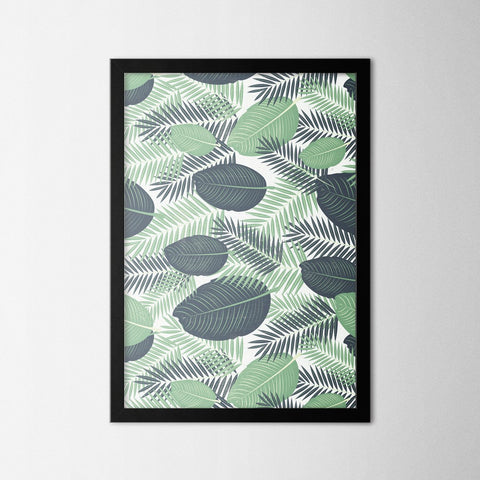 Leaf I - Northshire - Poster - Dekorasyon - Ev Dekorasyonu - Wall Art - Metal Wall Art - Decoration