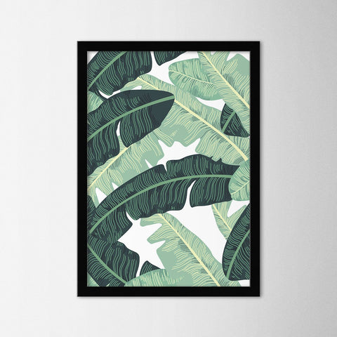 Leaf II - Northshire - Poster - Dekorasyon - Ev Dekorasyonu - Wall Art - Metal Wall Art - Decoration