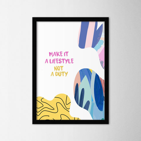 Life Style - Northshire - Poster - Dekorasyon - Ev Dekorasyonu - Wall Art - Metal Wall Art - Decoration
