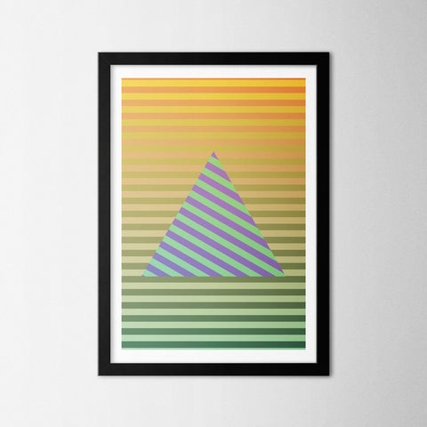 Line Angle - Northshire - Poster - Dekorasyon - Ev Dekorasyonu - Wall Art - Metal Wall Art - Decoration