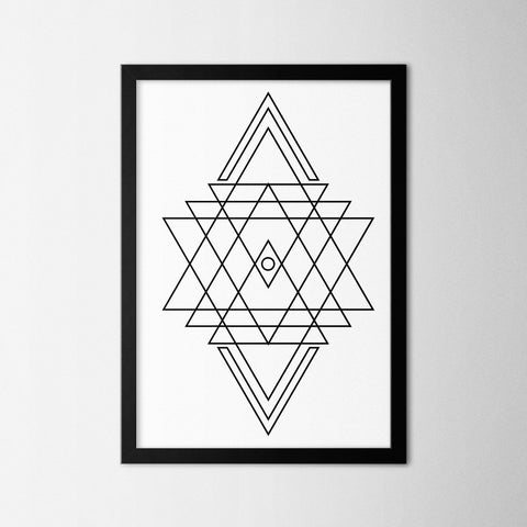 Line Art III - Northshire - Poster - Dekorasyon - Ev Dekorasyonu - Wall Art - Metal Wall Art - Decoration