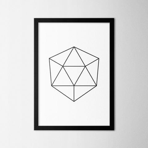 Line Art IV - Northshire - Poster - Dekorasyon - Ev Dekorasyonu - Wall Art - Metal Wall Art - Decoration