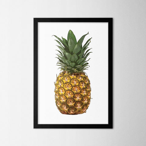 Minimal Pineapple - Northshire - Poster - Dekorasyon - Ev Dekorasyonu - Wall Art - Metal Wall Art - Decoration