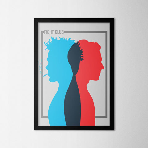 Fight Club I - Northshire - Poster - Dekorasyon - Ev Dekorasyonu - Wall Art - Metal Wall Art - Decoration