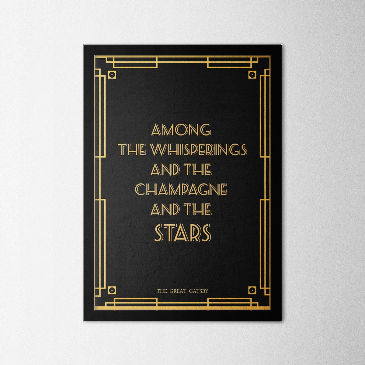 The Great Gatsby - Northshire Art Prints - Poster - Dekorasyon