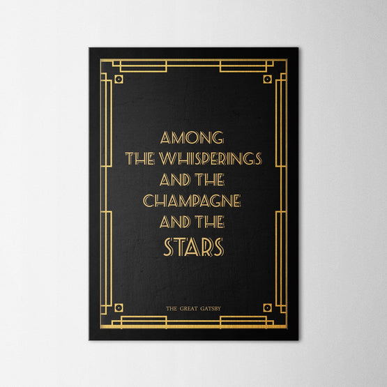 The Great Gatsby - Northshire - Poster - Dekorasyon - Ev Dekorasyonu - Wall Art - Metal Wall Art - Decoration