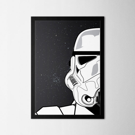 Star Wars II - Northshire - Poster - Dekorasyon - Ev Dekorasyonu - Wall Art - Metal Wall Art - Decoration