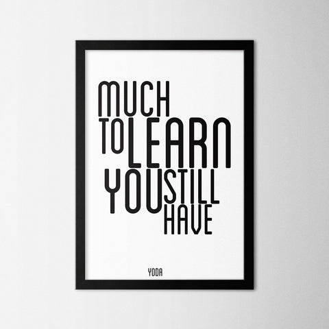 Much to Learn - Northshire Art Prints - Poster - Dekorasyon