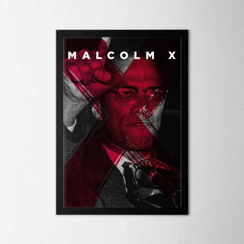 Malcolm X - Northshire - Poster - Dekorasyon - Ev Dekorasyonu - Wall Art - Metal Wall Art - Decoration