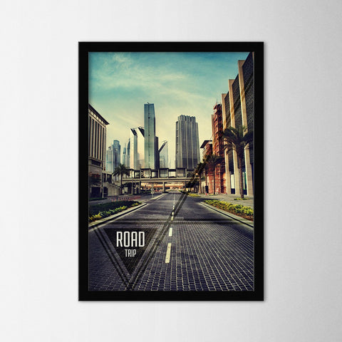 Road Trip - Northshire - Poster - Dekorasyon - Ev Dekorasyonu - Wall Art - Metal Wall Art - Decoration