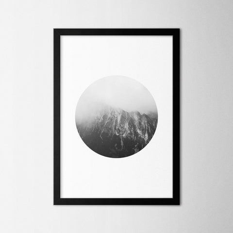Black & White Photography I - Northshire - Poster - Dekorasyon - Ev Dekorasyonu - Wall Art - Metal Wall Art - Decoration