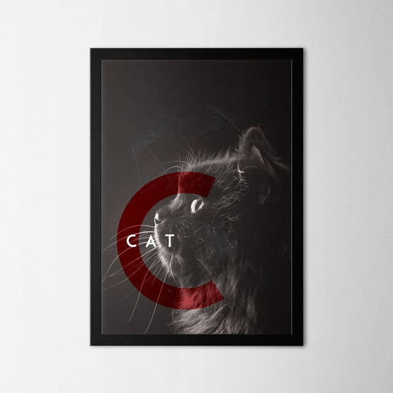 Cat - Northshire - Poster - Dekorasyon - Ev Dekorasyonu - Wall Art - Metal Wall Art - Decoration