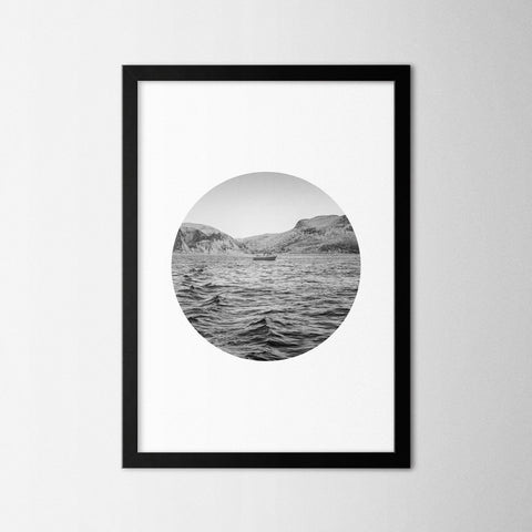 Black & White Photography V - Northshire - Poster - Dekorasyon - Ev Dekorasyonu - Wall Art - Metal Wall Art - Decoration
