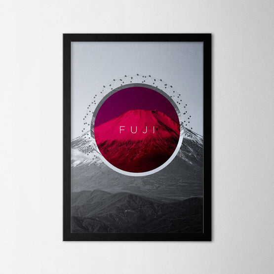 Fuji - Northshire - Poster - Dekorasyon - Ev Dekorasyonu - Wall Art - Metal Wall Art - Decoration