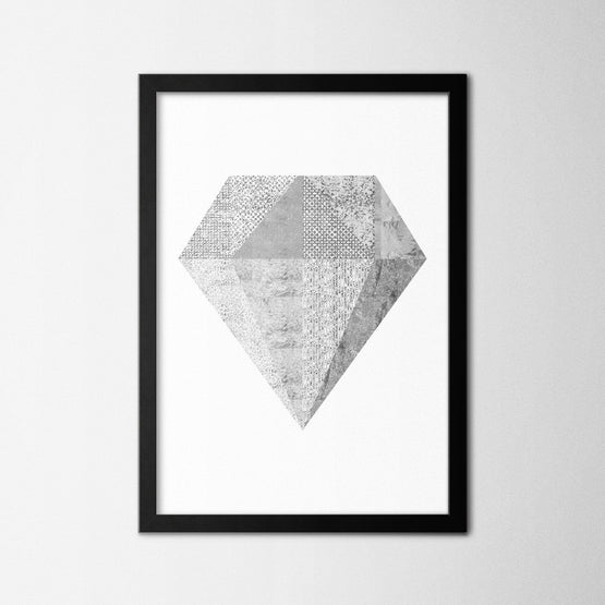 Silver Diamond - Northshire - Poster - Dekorasyon - Ev Dekorasyonu - Wall Art - Metal Wall Art - Decoration