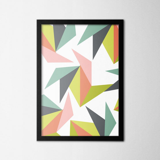 Scandinavian Origami - Northshire - Poster - Dekorasyon - Ev Dekorasyonu - Wall Art - Metal Wall Art - Decoration