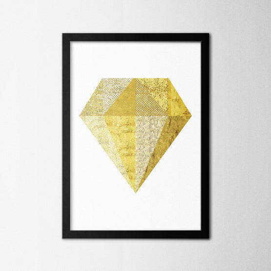 Gold Diamond - Northshire - Poster - Dekorasyon - Ev Dekorasyonu - Wall Art - Metal Wall Art - Decoration