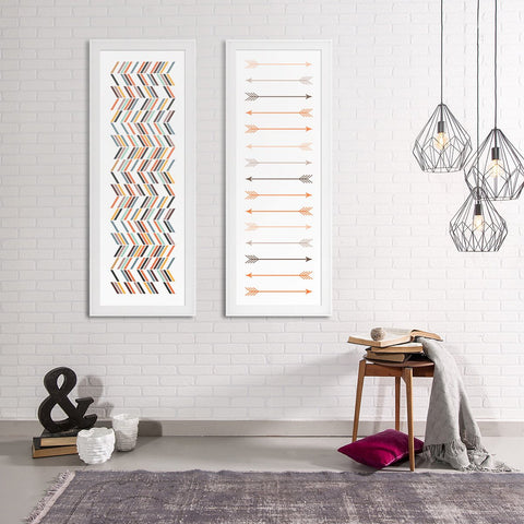 Ver. Scandinavian Set - Northshire - Poster - Dekorasyon - Ev Dekorasyonu - Wall Art - Metal Wall Art - Decoration